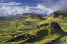 Canvas print  Highlands on the Isle of Skye in summer, Scotland - Tobias Richter