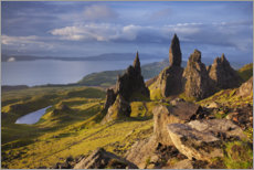 Canvas print  Rock of the Old Man of Storr on the Isle of Skye, Scotland - Tobias Richter