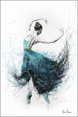 Canvas print  Gold River Dance - Ashvin Harrison
