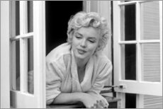 Canvas print  Marilyn Monroe - Window Scene - Celebrity Collection