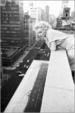 Acrylic print  Marilyn Monroe in New York - Celebrity Collection