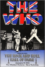 Premium poster The Who - Hall of Fame