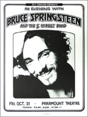 Premium poster  Bruce Springsteen - E Street Band - Entertainment Collection
