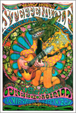 Wood print  Steppenwolf - Freedom Hall - Entertainment Collection
