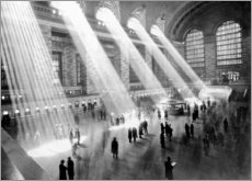 Acrylic print  Sunbeams into Grand Central Station