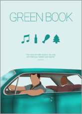 Canvas print  Green Book - HDMI2K