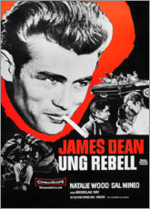 Aluminium print  Rebel Without a Cause - Entertainment Collection