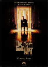 Aluminium print  The Godfather Part III - Entertainment Collection