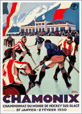 Premium poster  Chamonix - Travel Collection