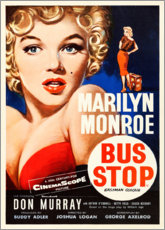 Canvas print  Bus Stop - Entertainment Collection
