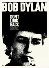 Aluminium print  Bob Dylan - Don't Look Back - Entertainment Collection