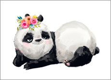 Canvas print  Panda Princess - Kidz Collection
