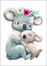 Canvas print  Koala Mama - Kidz Collection