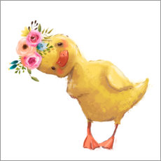 Premium poster  Spring duckling - Kidz Collection