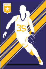Canvas print  Basketball 35 - Bo Lundberg