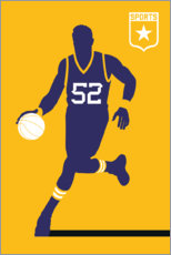 Canvas print  Basketball 52 - Bo Lundberg