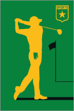 Wall sticker  Golf II - Bo Lundberg