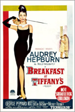 Wood print  Breakfast at Tiffany's