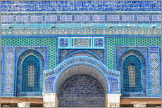 Premium poster  Pattern of the Dome of the Rock II - HADYPHOTO