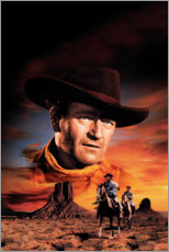 Premium poster  The Searchers