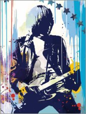 Premium poster  Johnny Ramone, The Ramones II - 2ToastDesign