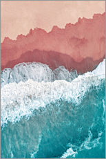 Premium poster Colors of the sea