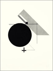 Wood print  Kestner folder, sheet 2 - El Lissitzky