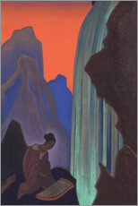 Premium poster  Song of the Waterfall - Nicholas Roerich