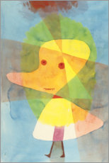 Aluminium print  Small garden ghost - Paul Klee