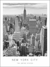 Canvas print  New York City - Art Couture
