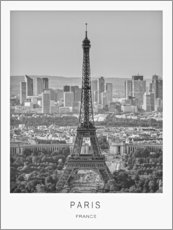 Canvas print  Paris - Art Couture