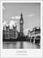 Canvas print  London - Art Couture