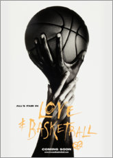 Canvas print  Love & Basketball - Advertising Collection