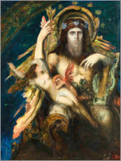 Wall sticker  Jupiter and Semele - Gustave Moreau
