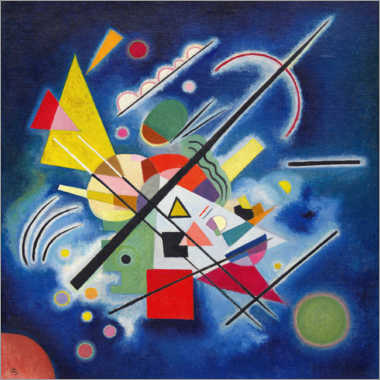 Wall sticker  Blue Painting - Wassily Kandinsky