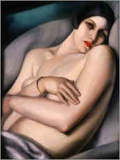Foam board print  The dream - Tamara de Lempicka