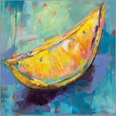 Canvas print  Lemon wedge - Jeanette Vertentes