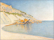 Wall sticker  Cassis, Cap Lombard - Paul Signac