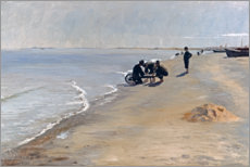 Wall sticker  South beach at Skagen - Peder Severin Krøyer