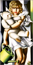 Wall sticker  Portrait of Miss Poum Rachou - Tamara de Lempicka
