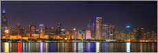 Canvas print  Chicago skyline