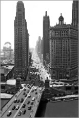 Canvas print  Michigan Avenue in Chicago