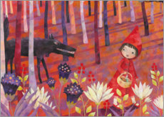 Premium poster Little Red Riding Hood