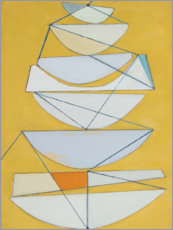 Premium poster  Abstract sails II - Rob Delamater