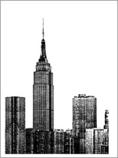 Canvas print  New York III - Jeff Pica
