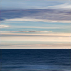 Canvas print  Play of colors at the sea II - Heiko Mundel