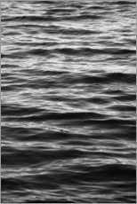 Canvas print  Black ocean - Studio Nahili