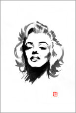 Canvas print  Marilyn Monroe - Péchane