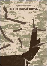 Premium poster Black Hawk Down