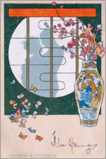 Premium poster Madame Butterfly III